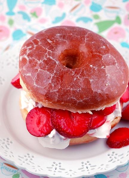 Doughnut Strawberry Shortcake Recipes — Dishmaps