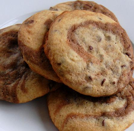 Chocolate Marble Chunk Cookies