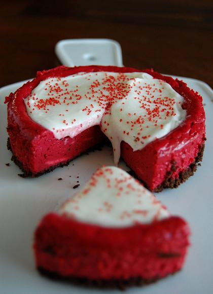Red Velvet Cheesecake : Red Velvet Cheesecake